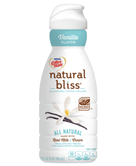 Coffeemate Natural Bliss Vanilla 16oz. - East Side Grocery