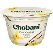 Chobani Greek Yogurt 0% Vanilla 5.3oz - East Side Grocery