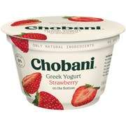 Chobani Greek Yogurt 0% Strawberry 5.3oz - East Side Grocery