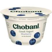 Chobani Greek Yogurt 0% Blueberry 5.3oz - East Side Grocery