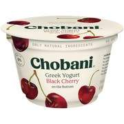 Chobani Greek Yogurt 0% Black Cherry 5.3oz - East Side Grocery