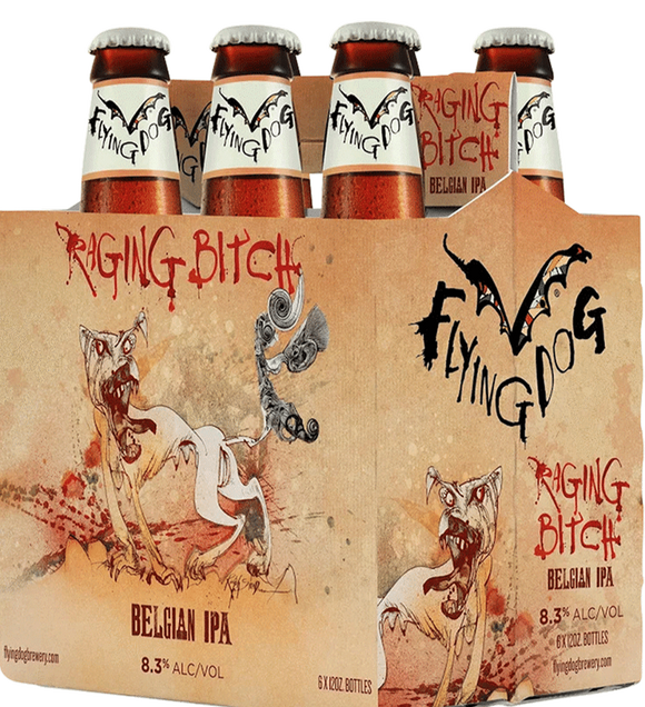 Flying Dog Raging Bitch IPA -12oz. Bottle - East Side Grocery