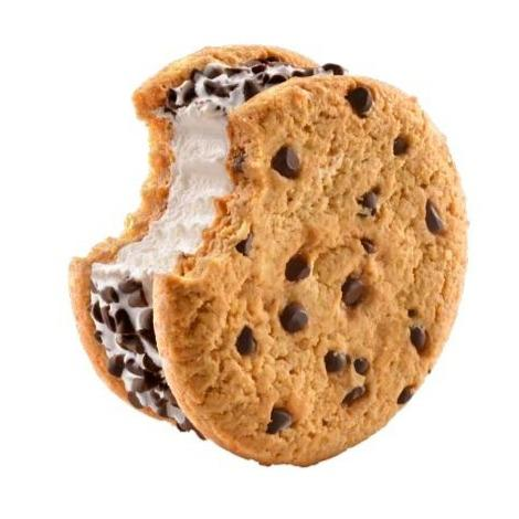 Good Humor Chocolate Chip Cookie Sandwich 4.5 oz. - East Side Grocery
