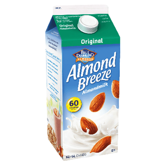 Almond Breeze Almond  Milk  Original - 64oz. - East Side Grocery