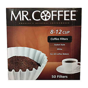 Mr. Coffee Filters Basket Style 50ct. - East Side Grocery