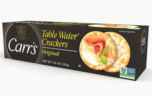 Carr's Table Water Crackers 4.25oz. - East Side Grocery