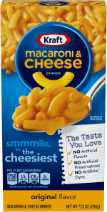 Kraft Macaroni & Cheese 7.25oz. - East Side Grocery
