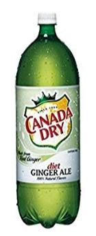 Canada Dry Ginger Ale Diet 1 Liter - East Side Grocery