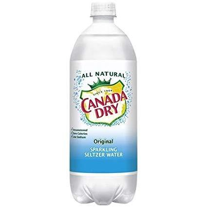 Canada Dry seltzer Original 1 Liter - East Side Grocery