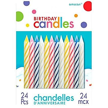 Birthday Candles  24-Pack - East Side Grocery