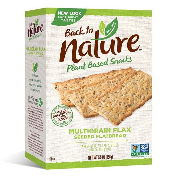 Back to Nature Multigrain Flax 5.5 oz. - East Side Grocery