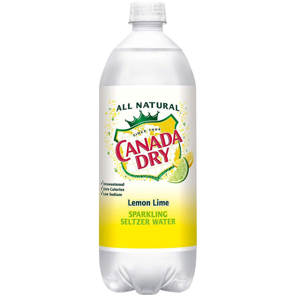 Canada Dry seltzer Lemon Lime 1 Liter - East Side Grocery
