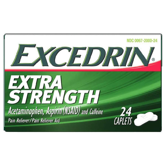 Excedrin Extra Strength 24 Tablet - East Side Grocery