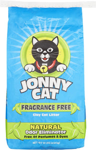 Jonny Cat Unscented Cat Litter 10Lb - East Side Grocery