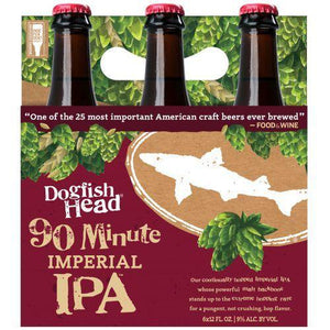 Dogfish Head  90 minutes IPA - 12oz. Bottle - East Side Grocery
