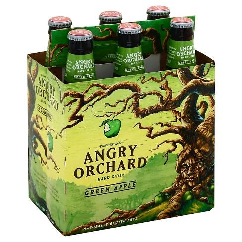 Angry Orchard Green Apple Cider 12oz. Bottle - East Side Grocery