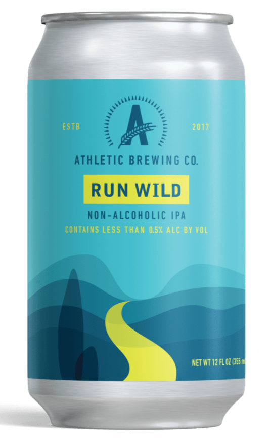 Athletic Run Wild Non-Alcoholic IPA - 12oz. Can - East Side Grocery