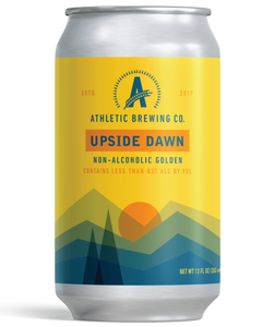 Athletic Upside Dawn Non-Alcoholic Golden Ale - 12oz. Can - East Side Grocery