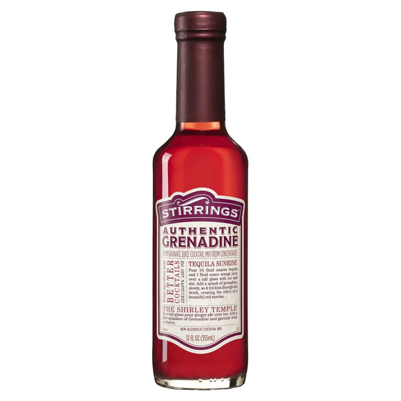 Stirrings Grenadine Syrup 12 oz.