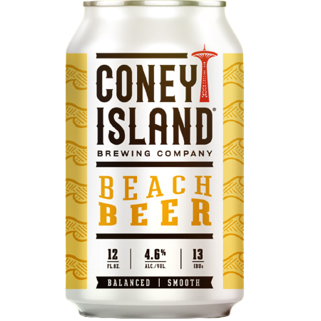 Coney Island Beach Beer 12oz. Can