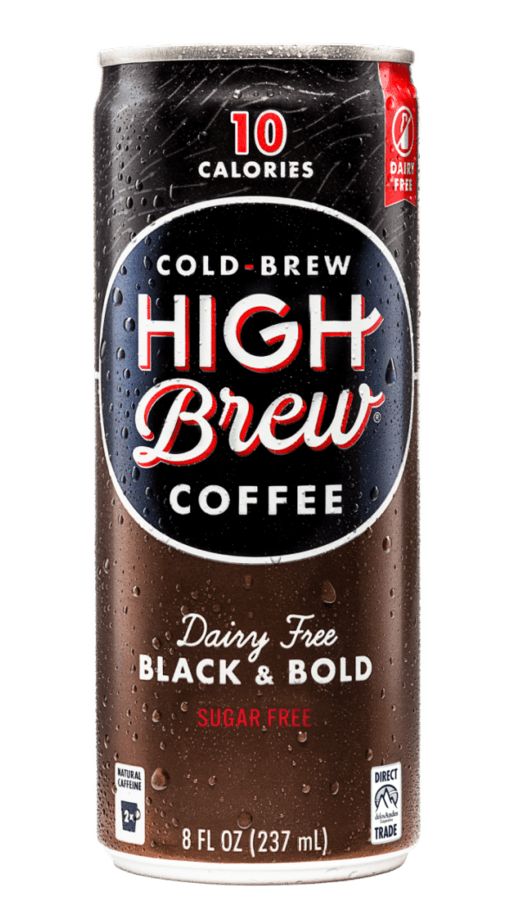 High Brew Cold Brew Coffee Black & Bold 8oz. Can - East Side Grocery