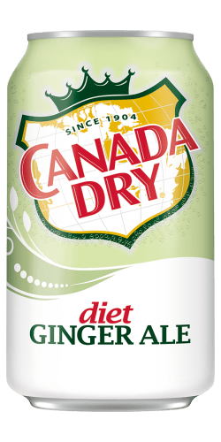 Canada Dry Diet Ginger Ale - 12oz. Can - East Side Grocery