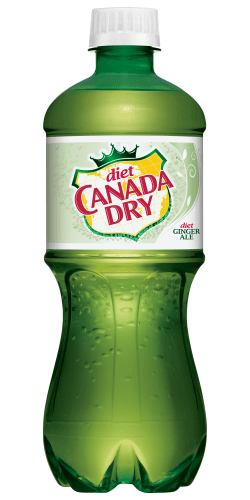 Canada Dry Ginger Ale Diet 20oz. Bottle - East Side Grocery