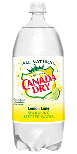 Canada Dry Lemon-Lime Seltzer 2 Liter - East Side Grocery