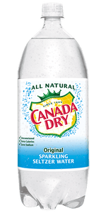 Canada Dry Seltzer Water 2 Liter - East Side Grocery
