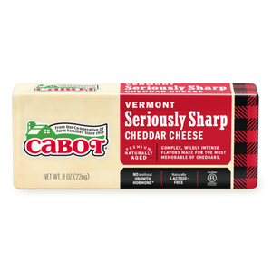 Cabot Cheese Seriously Sharp White 8oz. - East Side Grocery