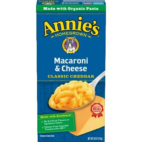 Annie's Macaroni & Cheese 6oz. - East Side Grocery