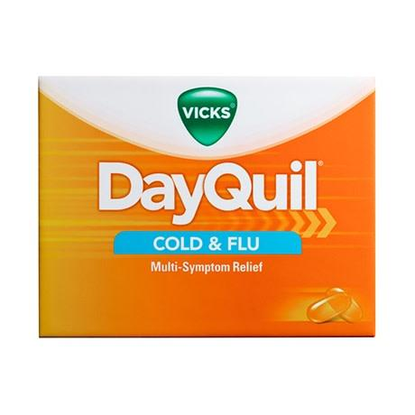 Dayquil LiquiCaps Cold & Flu 16 Count - East Side Grocery