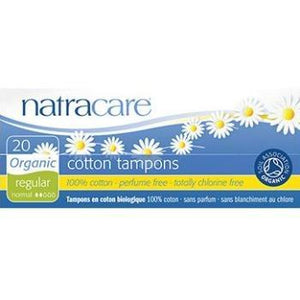 NatraCare Organic Tampons 20ct. - East Side Grocery