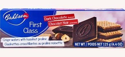 Bahlsen Cookies First Class Dark Chocolate 4.4oz. - East Side Grocery