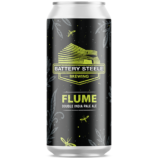 Battery Steele Flume 16oz. Can