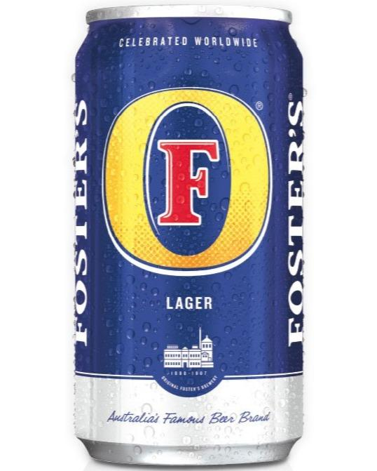 Foster's Lager 25.4oz Can (Blue) - East Side Grocery