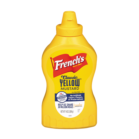 French's Yellow Mustard 14oz. - East Side Grocery