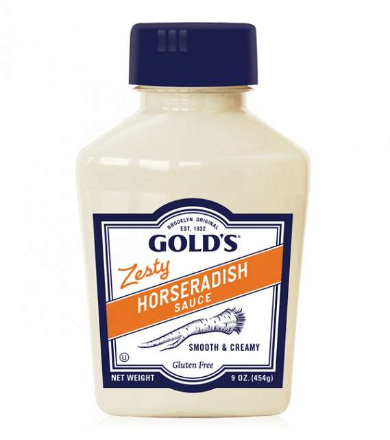 Gold's Zesty Horseradish Sauce 9oz. - East Side Grocery