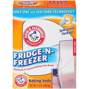 Arm & Hammer Fridge-N-Freezer Baking Soda  14oz. - East Side Grocery