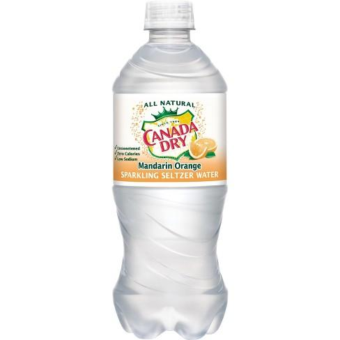 Canada Dry Seltzer Mandarin Orange 20oz. Bottle - East Side Grocery