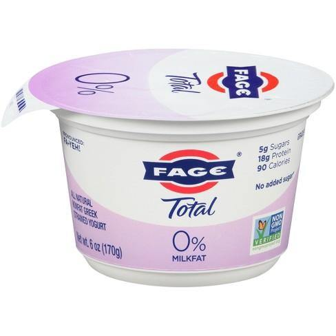 Fage Total Yogurt 0% Plain 7oz. - East Side Grocery