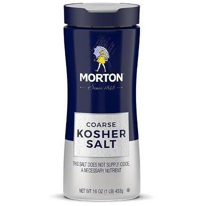 Morton Kosher Salt  16oz. - East Side Grocery