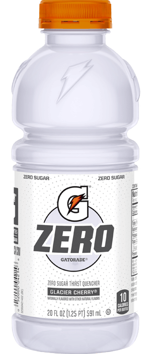 Gatorade Glacier Cherry Zero - 20oz. - East Side Grocery