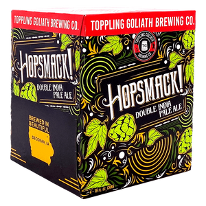 Toppling Goliath Hopsmack Double IPA 16oz. Can - East Side Grocery