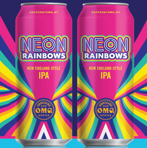 Ommegang Neon Rainbow 6oz. Can