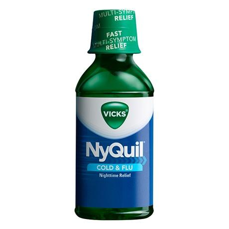 Nyquil Liquid 8oz. - East Side Grocery