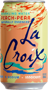 LaCroix Sparkling Water Peach Pear 12oz. Can - East Side Grocery