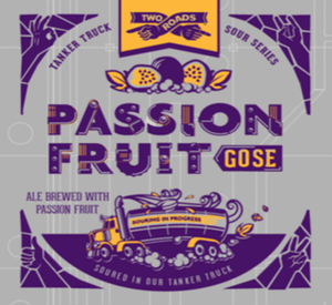 Two Roads Passion Fruit Gose 16oz. Can - East Side Grocery