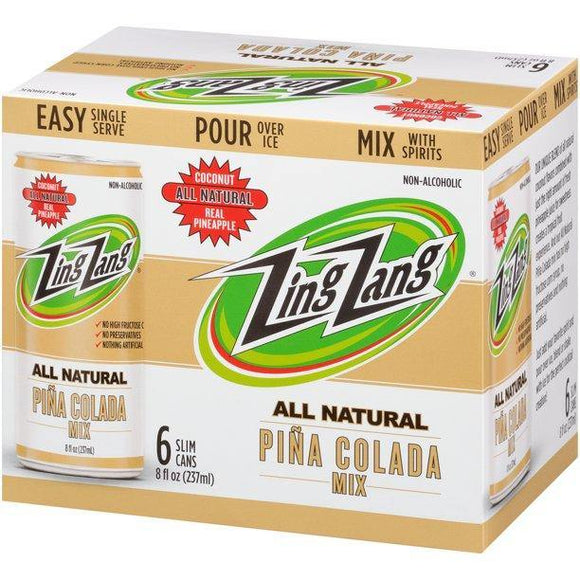 Zing Zang Pina Colada Mix 8oz. Can - East Side Grocery