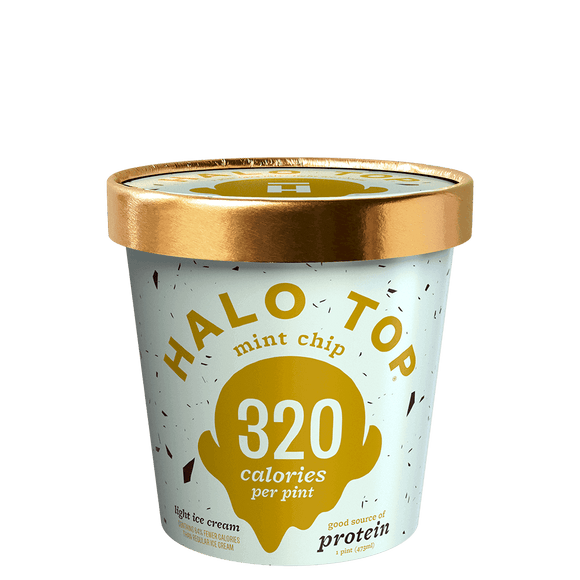 Halo Top Ice Cream Mint Chip 16oz. - East Side Grocery